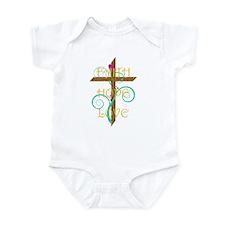 Faith Hope Love Infant Bodysuit