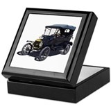 Unique Antique car Keepsake Box