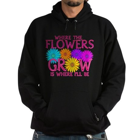 Where Flowers Grow Hoodie (dark)