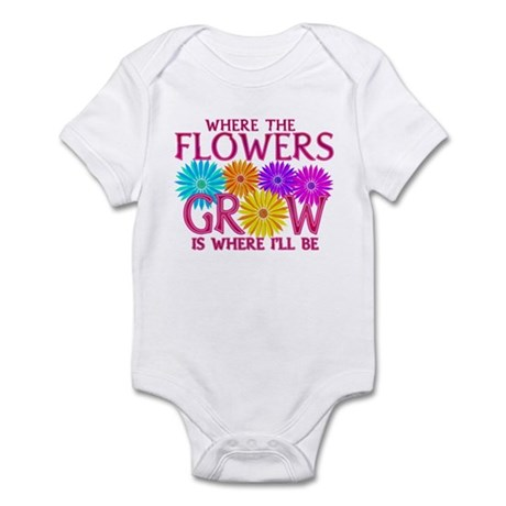 Where Flowers Grow Infant Bodysuit