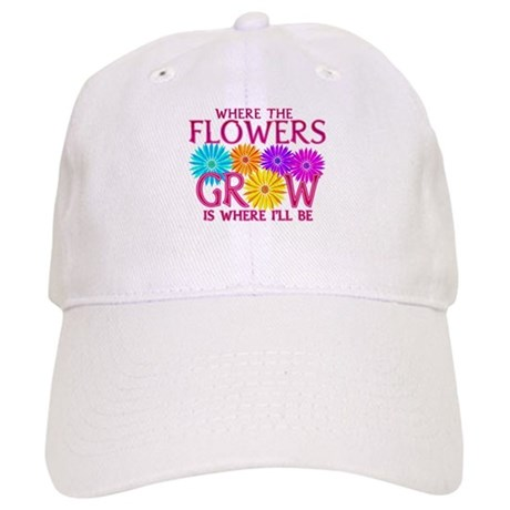 Where Flowers Grow Cap
