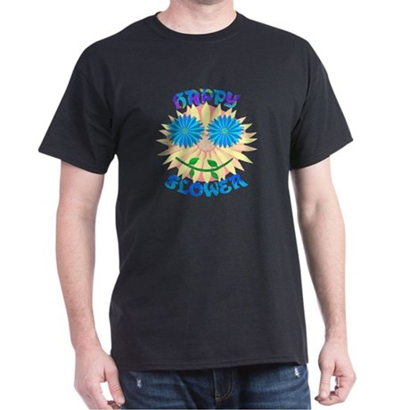 Happy Flower Dark T-Shirt