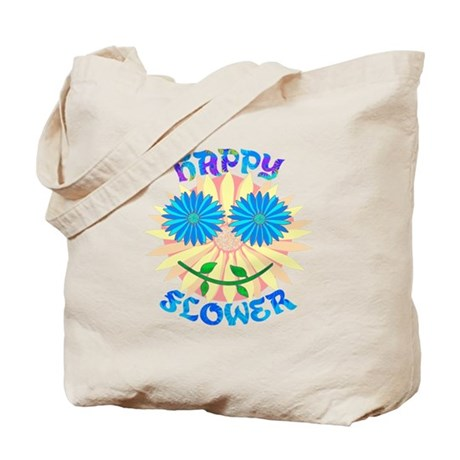 Happy Flower Tote Bag