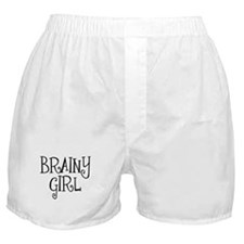 Brainy Girl Boxer Shorts