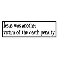 Bumper Sticker -- Jesus victim of DP