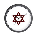 Star of David - Judaism Wall Clock