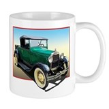 Unique Antique car Small Mugs