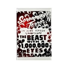 Beast with 1,000,000 Eyes Rectangle Magnet (100 pa