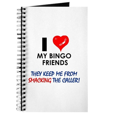 I love my Bingo Friends Journal