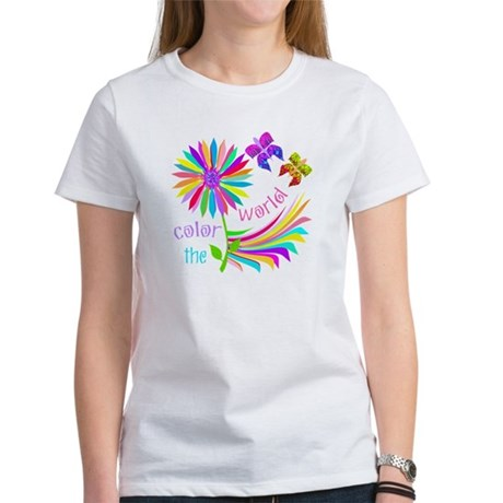 Color the World Women's T-Shirt