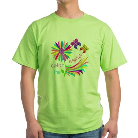Color the World Green T-Shirt