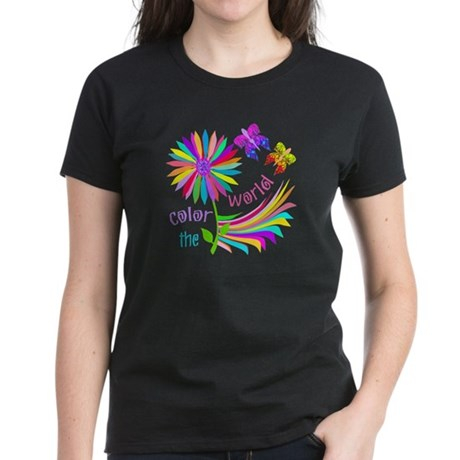 Color the World Women's Dark T-Shirt