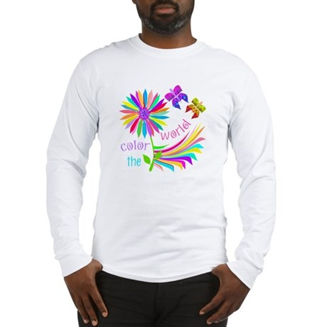 Color the World Long Sleeve T-Shirt