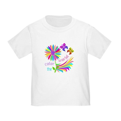 Color the World Toddler T-Shirt