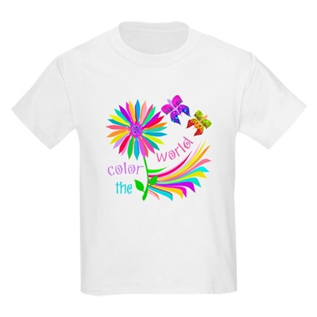 Color the World Kids Light T-Shirt