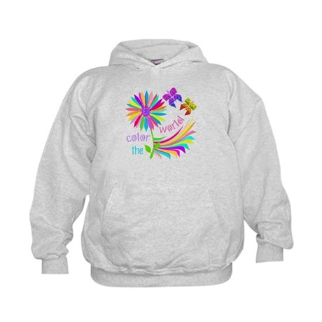 Color the World Kids Hoodie