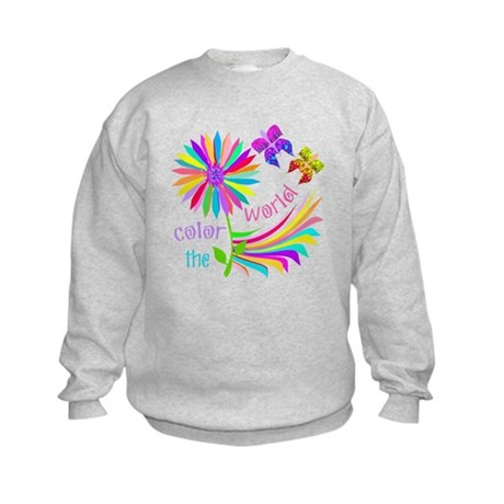 Color the World Kids Sweatshirt