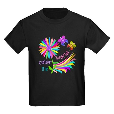 Color the World Kids Dark T-Shirt