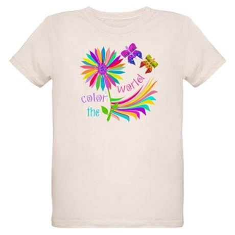 Color the World Organic Kids T-Shirt