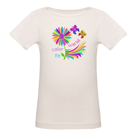 Color the World Organic Baby T-Shirt