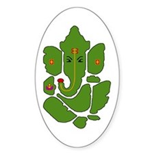 """Ganesha"" Oval Decal"