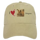 """I Love Dingoes"" Baseball Cap"