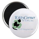 """Kitty Corner 2.25"""" Magnet (100 pack)"""