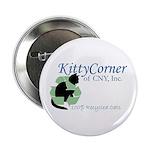 "Kitty Corner 2.25"" Button (10 pack)"