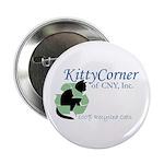 """Kitty Corner 2.25"""" Button"""