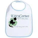 Kitty Corner Baby Bib