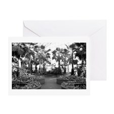 The Crystal Garden Greeting Card