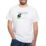 Kitty Corner White T-Shirt