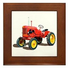 Vintage farm Framed Tile