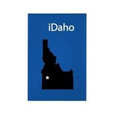 iDaho Rectangle Magnet (10 pack)