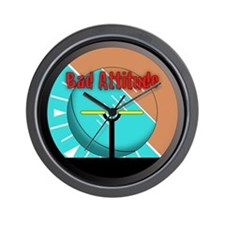 Cute Aircraft instruments Wall Clock