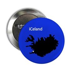 "iCeland 2.25"" Button (10 pack)"