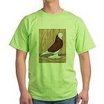 WOE Red Bald Green T-Shirt