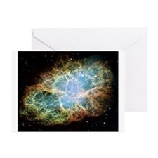 Crab Nebula Greeting Cards (Pk of 10)