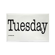 Tuesday - On a Rectangle Magnet (10 pack)