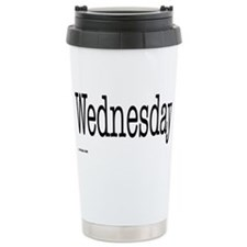 Wednesday - On a Ceramic Travel Mug