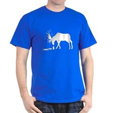 T-Shirt Drunk Moose White