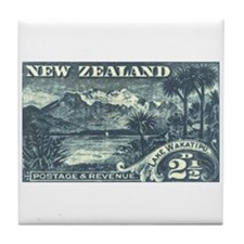 New Zealand Pictorials Tile Coaster