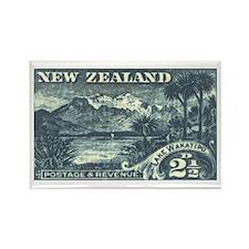 New Zealand Pictorials Rectangle Magnet