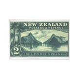 New Zealand Pictorials Rectangle Magnet