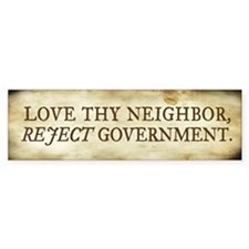 Love The Neighbor Bumper Sticker (50 pk)