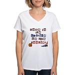 The Darkside Women's V-Neck T-Shirt