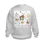 4 my mommy and daddy Kids Sweatshirt