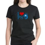 I Love PS9 Women's Dark T-Shirt