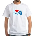 I Love PS9 White T-Shirt