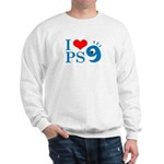 I Love PS9 Sweatshirt